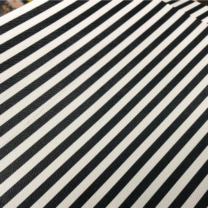 LARGE BLACK STRIPES Canvas Fabric Sheet, 8x11 Faux Leather Sheet, Leather for Earrings, Hair Bow Material - 248 photo