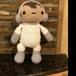 Amigurumi Baby Shark - Crochet Baby Shark Doll - Yellow Baby Shark ... | 300x300