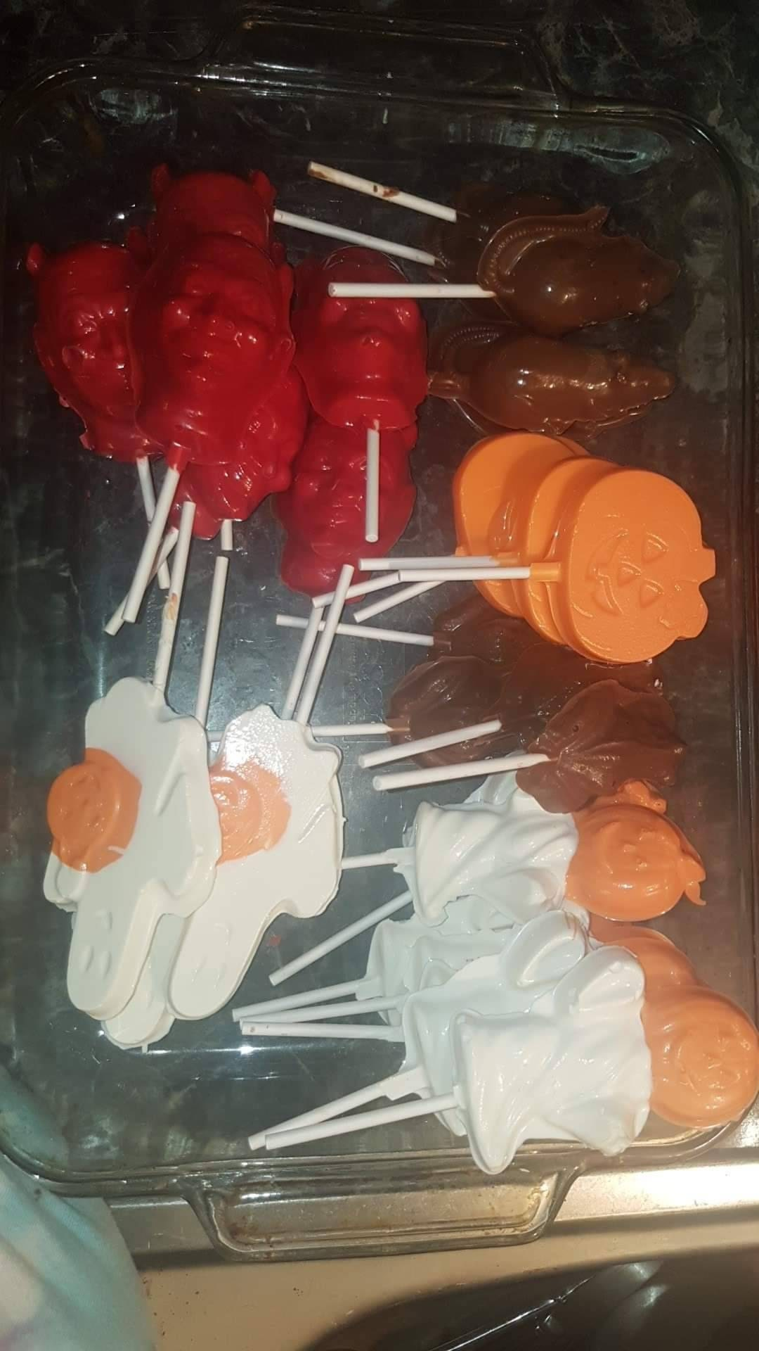 Lightning Bolt Lollipop Chocolate Candy Mold Harry Potter Party 3396 NEW