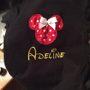 Disney Machine Embroidery Font Monogram Alphabet - 3 Sizes photo