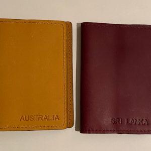 Leather passport cover personalized, Leather Passport holder, passport wallet, travel gift, wanderlust gift, traveler's gift photo