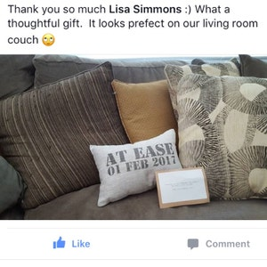 Lisa added a photo of their purchase