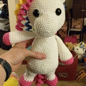 doll unicorn amigurumi – Free Amigurumi | 300x300