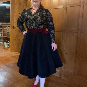 Baylis /& Knight BLACK Pleat Wrap Drape GORGEOUS Mini Dress Short Flattering