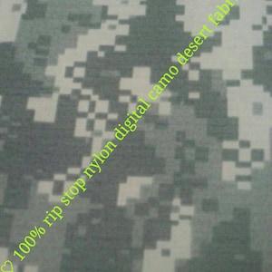 100/% Nylon Poplin Digital Camo Tiger Desert Camo Fabric