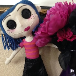 Coraline Doll Pattern Make Your Own Little Me As Seen In Etsy