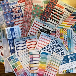 Sale! KIT-238 Add-Ons    Oh My Stars Kit Planner Stickers - 2020 Full Kits photo