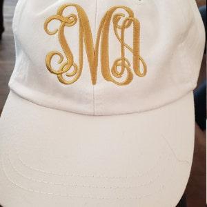 5ec4182d2cd Monogram Hat Monogram Baseball Hat Womens hat monogrammed