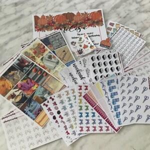 Popcorn Stickers // Planner Stickers // Matte, Glossy, Premium Matte