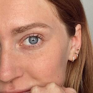 Tiny Butterfly Earrings • butterfly stud earrings • dainty earrings • minimalist earrings • tiny stud earrings • gold stud earrings • silver photo