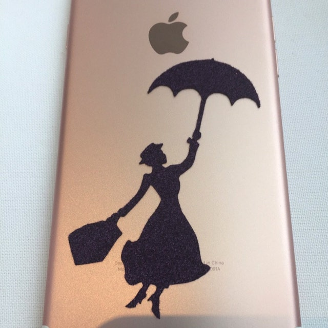 mary poppins iphone decal