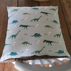 Sophie Allport /'Dinosaur/' Fabric Handmade Cushions