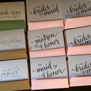 Wedding Card to Your Future Mother and Father in-law -- Parents of the Bride or Groom Cards - CS01 photo