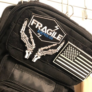 Patch for cosplay DS Bridges Fragile Sew on