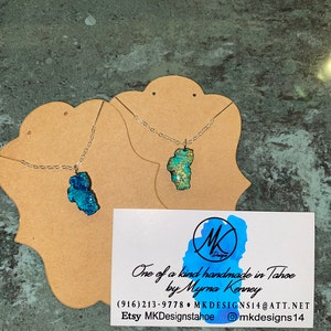many different styles and sizes which one is yours! Lake Tahoe jewelry