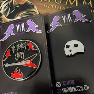 Horror Heroines Thomasin The Witch Enamel Pin