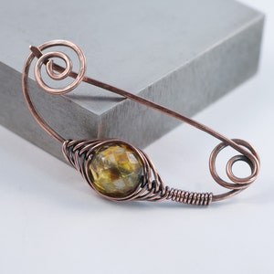 CASHMERE .. 6 Premium Picasso Czech Opal Glass Beads 11-12mm (2306-6) photo