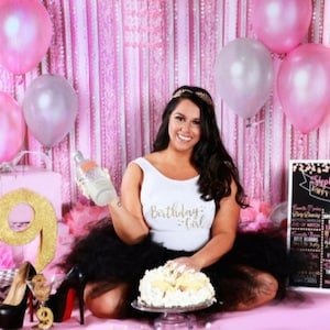 16x20 Adult Cake Smash Picture Prop Printable or Photoshop Adult Birthday Board Digital File