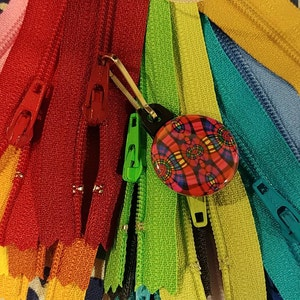 Special Price - 25 Assorted YKK All Purpose Zippers- Available in 3,4,5,6,7,8,9,10,12,14,16,18,20 and 22 Inches photo
