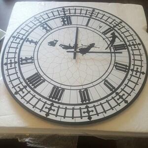 Peter Pan Big Ben Wall Clock Etsy