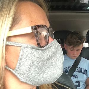 Cotton Face Mask, Washable Face masks, Reusable face mask,Breathable face mask, Adult masks, Travel face masks, Back to school Face mask #90 photo