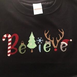 6fa1fdd2b14fd Christmas Believe svg file Christmas svg Anterls Santa Hat