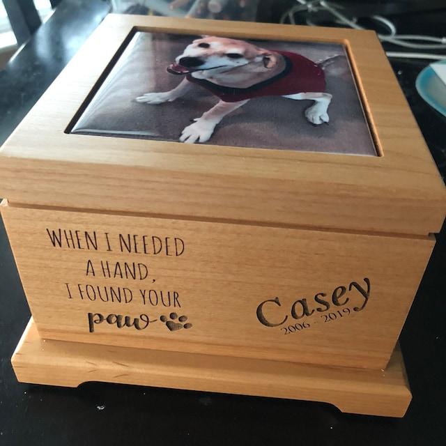 Cute Beagle Rosewood Pen /& Case Engraved