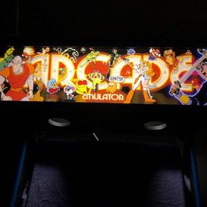 Street Fighter 2 Champion Edition Arcade Control Panel Overlay