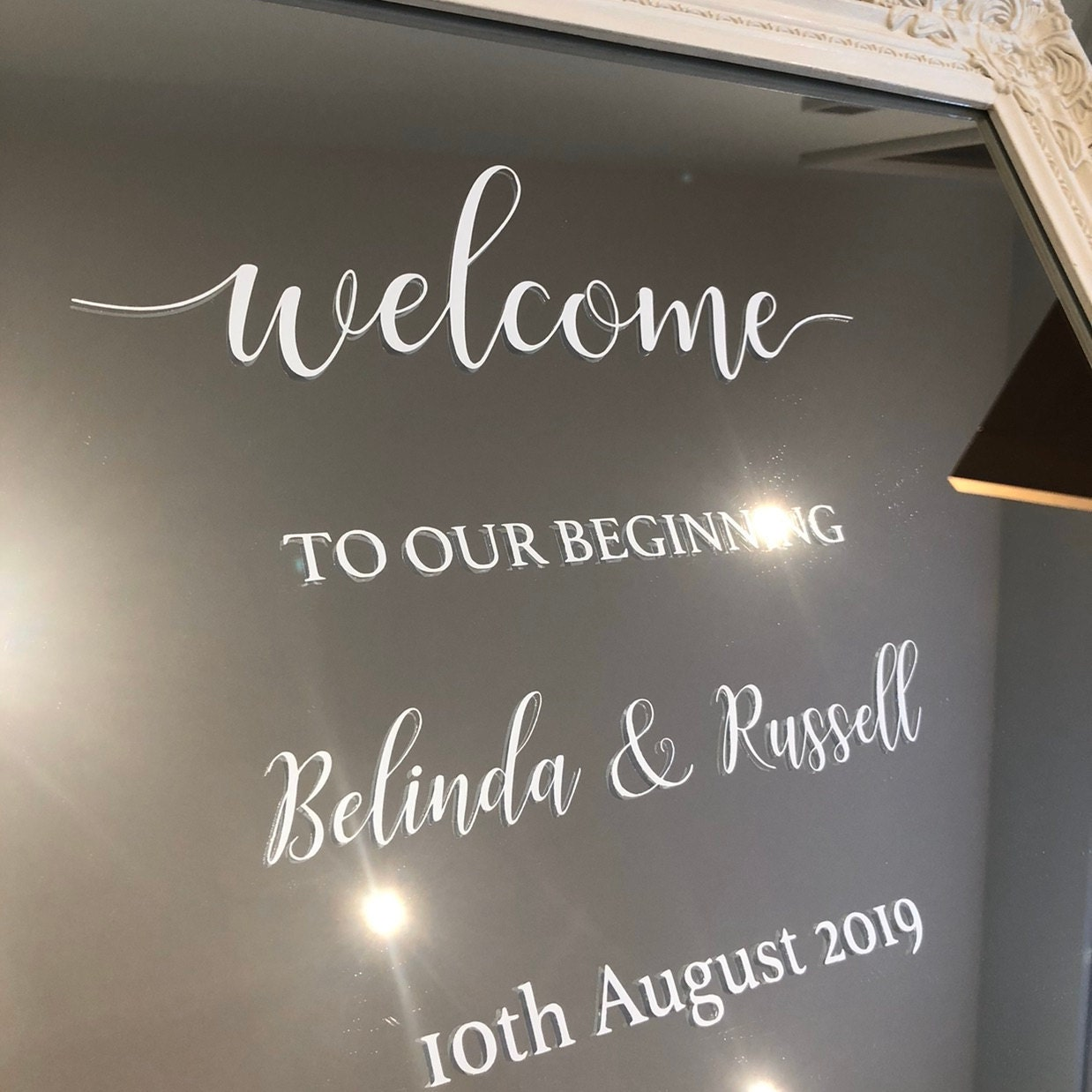 Angelic Designs Wedding Stationery added a photo of their purchase