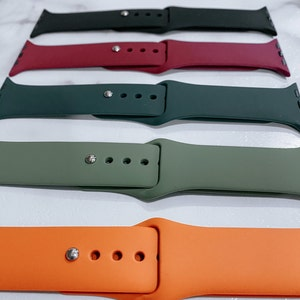 Silicone Apple Watch Bands, Apple Watch Band, Replacement Apple Watch Band photo