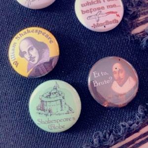 Michel Foucault Buttons Pins Badges philosophy philosopher archaeology history