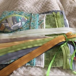 Your Choice of 10 YKK Brand 14 Inch Zippers - Choose from 65 colors - photo