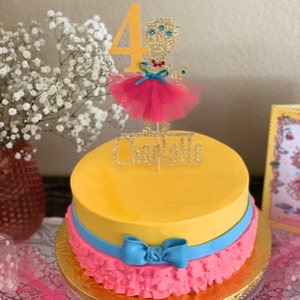 Phenomenal Fancy Nancy Birthday Cake Topper Disney Fancy Nancy Cake Etsy Funny Birthday Cards Online Barepcheapnameinfo