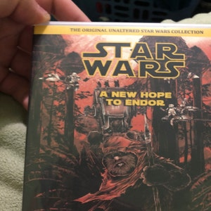The Original Star Wars Trilogy Unruined / Despecialized on Bluray + Ewok  Films on DVD - A New Hope To Endor