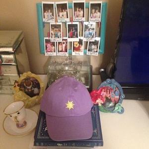 f1556c96913 Rapunzel Tangled Sun Disney embroidered baseball dad hat