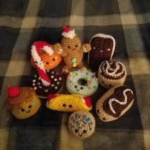 crochet pattern amigurumi food bento family crochet pattern etsy. Black Bedroom Furniture Sets. Home Design Ideas