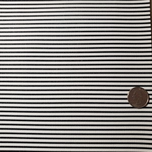 STRIPES Black and White Faux Leather Sheet, Canvas Fabric Sheet, Fake Leather Sheets, Leather for Earrings, Hair Bow Material photo