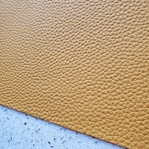 MUSTARD Faux Leather Sheets, Matte, Faux Leather Sheets, Leather for Earrings, Hair Bow Material, Craft Supplies - 60 photo