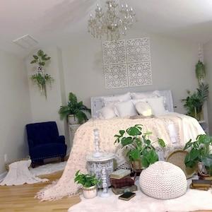 Boho Bedroom RugBohemian Living Room RugBedside Rug4x6 Area rugPrinted RugHoliday D\u00e9cor RugModern Farmhouse RugChristmas Gift For Her