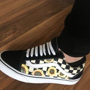 Harry Potter Custom Made Vans Old Skool Skate Shoe (NEW) Trending Now Deathly Hollows