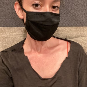 New color Add- 3 Layer Adjustable Band Cotton Comfortable Face Mask- Good Quality / Breathable/ Washable/Fashionable photo