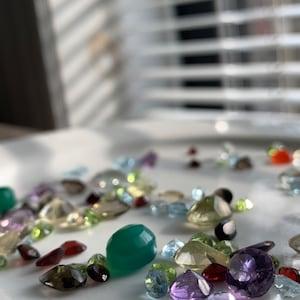 Over 100 Carats AAA Mixed Gem Natural Loose Gemstone Mix Lot Wholesale Loose Mixed Gemstones GemMartUSA (MX-60003) photo