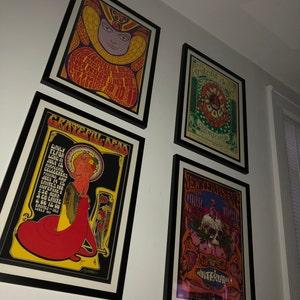 LARGE Framed Beksinski Art Poster Nevermore 22x22 inches