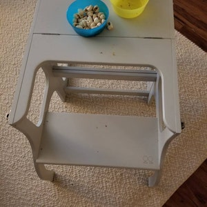 Helper Tower Table Chair All In One Etsy