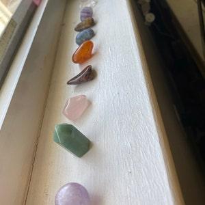 Chakra Stones Sm/Med Tumbled Stones Kit AA7 photo