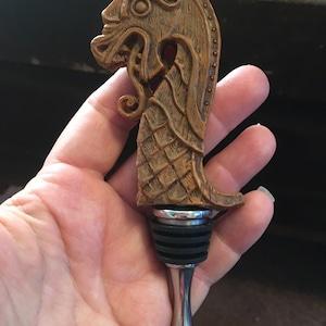 Viking Ship Dragon Winestopper