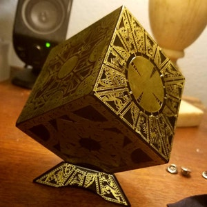 1:1 Solid EBONY Hellraiser Lament Configuration Prop B-STOCK