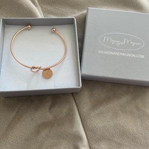 Customized Bracelet for Women Personalized Bracelet Charm Bracelet Best Gifts Maid of Honor Gift Flower Girl Mother of the Bride - KBR photo