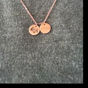Custom Pet Memorial Jewelry Dog Mom Gift Dog Memorial Necklace Pet Mom Dog Dad Gift New Mom Gift -CN-AP photo