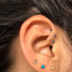 Tiny Star Stud Earrings • CZ dainty earrings • star earrings • tiny stud earrings • stud earrings • minimalist earrings • mothers day gift photo